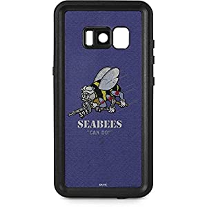 US Navy Galaxy S8 Plus Case - Seabees Can Do | Military X Skinit Waterproof Case by Skinit