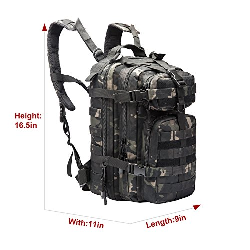 f8b07800c49 PANS 30L Tactical Outdoor Backpack,Assault Rucksack Camel Bag,Military  Hydration Pack,Small