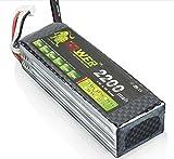 hensych Lion Power Batterie Lipo 3S 11.1V 2200mAh 30C pour RC Avion Hélicoptère