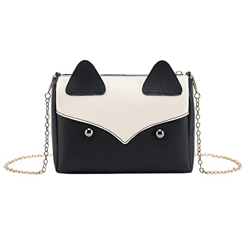Amazon.com: KESEELY Moda lindo pequeño cuadrado bolsa ...