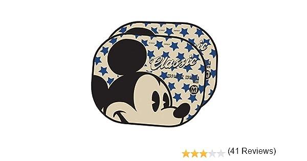 Par parasol plegable la ventana lateral del coche Sombrilla autom/ático est/ática Cling Protector para sol uso f/ácil,Disney Mickey Mouse