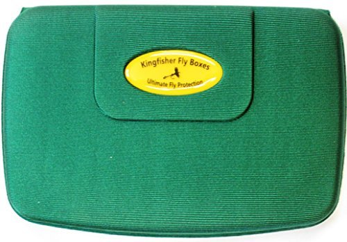 Kingfisher XL Lightweight Foam fly Boxes-Will Float if Dropped