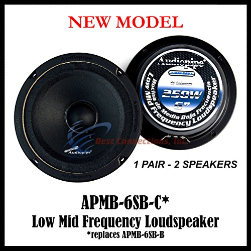 6 inch mid range speakers - 3