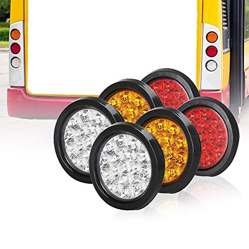 Round Led Bus Lights