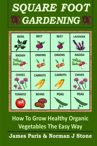 organic square foot gardening - 3