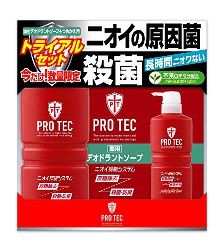 Pro Tec (puroteku) deodorantoso-pu Body 420ml + Wonder If Replacement 330ml Set [Quasi-drug]