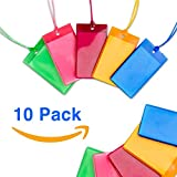 Luggage Tags BRIGHT FLEXIBLE JELLY BAG TAGS - FAMILY 10 PACK