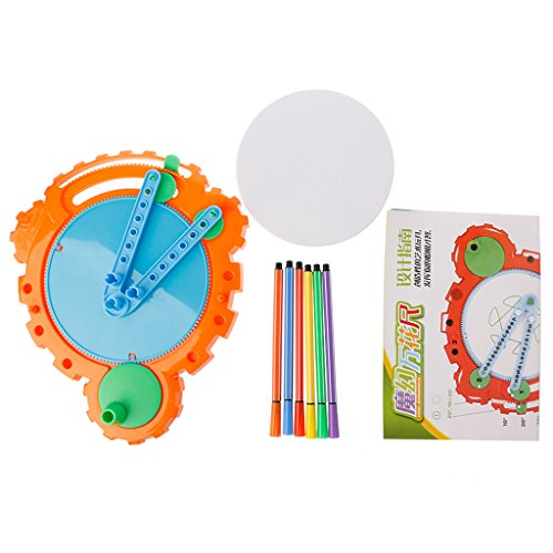 M-HUA Geometric Ruler Studenten Schreibwaren Zeichnungssatz Kids Toy Set