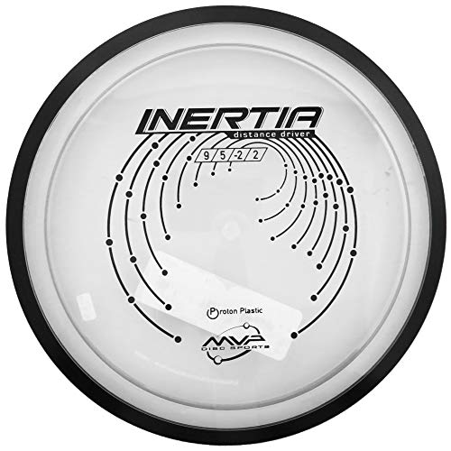 MVP Disc Sports Proton Inertia Disc Golf Distance Driver (170-175g / Colors May Vary)