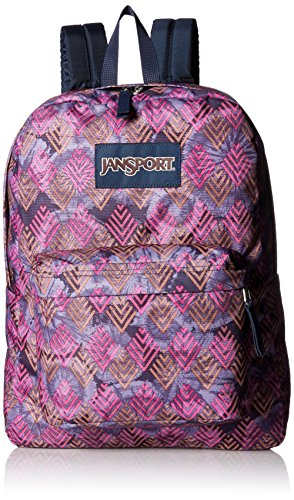 JanSport Superbreak Backpack- Sale Colors (Multi Diamond Arrows) by JanSport