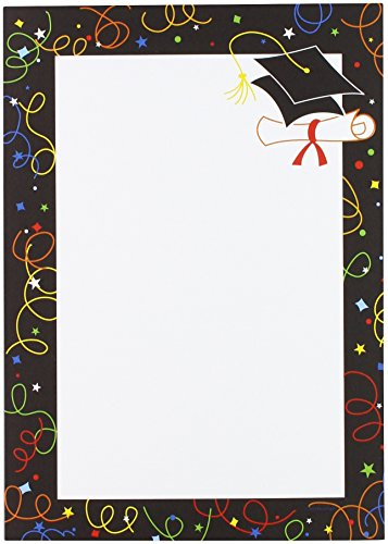 - Great Papers! Grad Swirls Invitations with Envelopes, 9.5