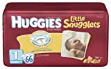 Huggies Little Snugglers Diapers, Size 1, 66-Count (Pack of 2)