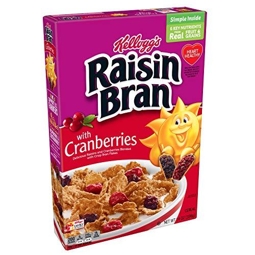 Raisin Bran Original with Cranberries Breakfast Cereal, 14 oz