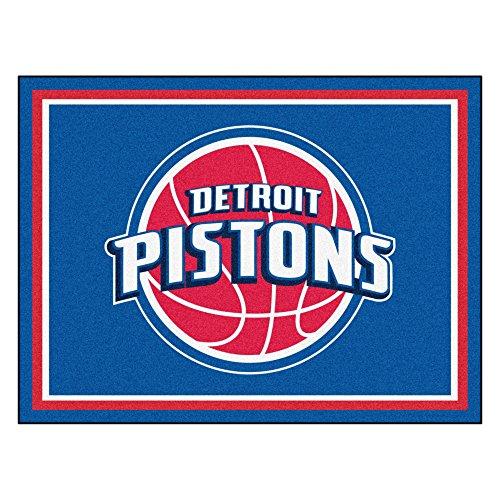 FANMATS 17450 NBA Detroit Pistons Rug by Fanmats
