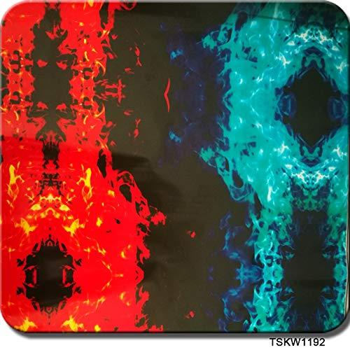 patr/ón de llama pel/ícula Hydro Dip La moda Pel/ícula hidrogr/áfica pel/ícula de impresi/ón por transferencia de agua Pel/ículas de inmersi/ón hidro 0.5 metros gr/áficos de alta resoluci/ón