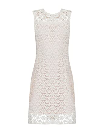 59b59750f0 Elie Tahari Ophelia White Dress (8) at Amazon Women s Clothing store