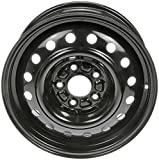 Dorman 939-197 Black Wheel with Painted Finish (16 x 6.5 inches /5 x 114 mm, 52 mm Offset)