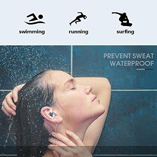 hot sale Sportlead True Wireless Earbuds Mini Bluetooth 4.2 Headphone with Magnetic Charging Box, Binaural Stereo In-Ear IPX7 Waterproof Sports Headset with Mic for iPhone X, Samsung, Huawei, iPad Android Blue