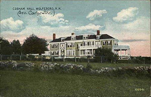 Cobham Hall - Cobham Hall Wolfeboro, New Hampshire Original Vintage Postcard