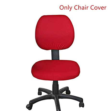amazon com office desk rotating chair seat slipcover protector