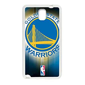 Golden State Warriors NBA White Phone Case for Samsung Galaxy Note3 Case