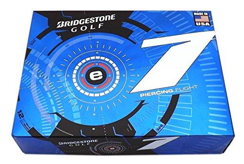 Bridgestone 1 Dozen New E7 Piercing Flight 12 Golf Balls 2015 - White