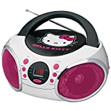 Best HELLO KITTY Cd Player With Speakers - Hello Kitty KT2026-MBY Portable Stereo CD Boombox Review