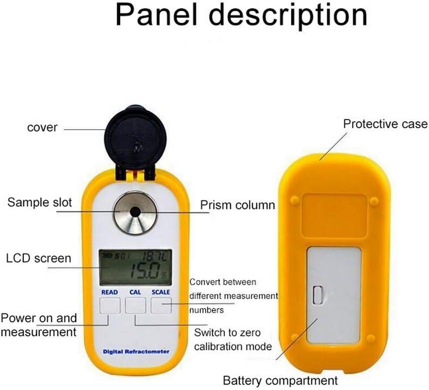 Pocket Coffee Concentration Refractometer Jiaboyu Digital Portable Coffee Densitometer,Coffee Brix TDS Meter