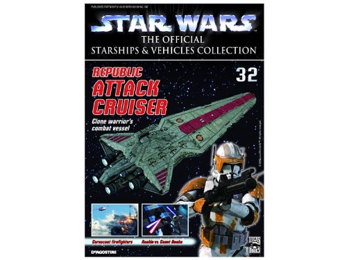 Star Wars The Official Starship & Vehicle Collection #032 Republic Attack Cruiser