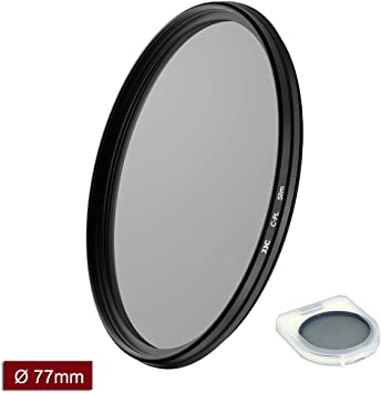 77mm CPL Circular Polarizer Camera Lens Filter for Canon EF 70-200mm f//2.8L is III USM
