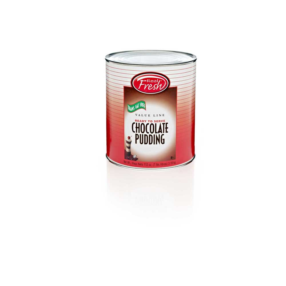 Advance Food Company Chocolate Pudding, Number 10 Can -- 6 cans per case.