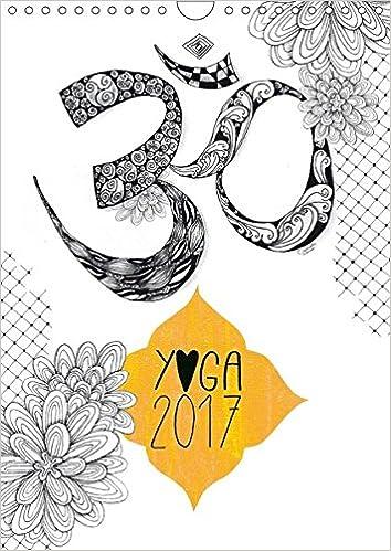 Yoga Kalender 2017 Wandkalender 2017 DIN A4 hoch : Liebevoll ...