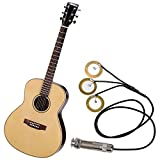 SODIAL New Pure Mini Acoustic Guitar Pickup
