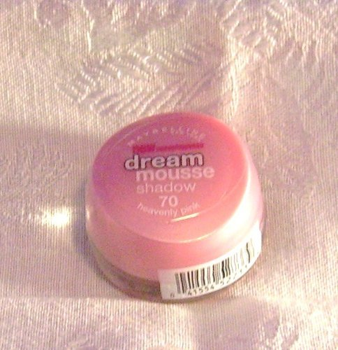 - Maybelline Dream Mousse Shadow, 70 Heavenly Pink, 0.12 OZ. / 3.5 g by Maybelline