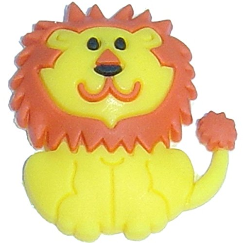 Lion Shoe Rubber Charm for Wristbands and Shoes