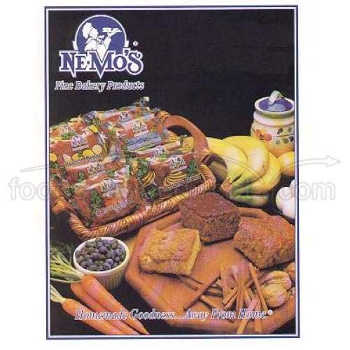 Ne-Mos Wild Blueberry Cake Bread, 4 Ounce - 12 per case.