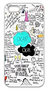 777life Funny The Fault In Our Stars Case Cover for Iphone 5S/5