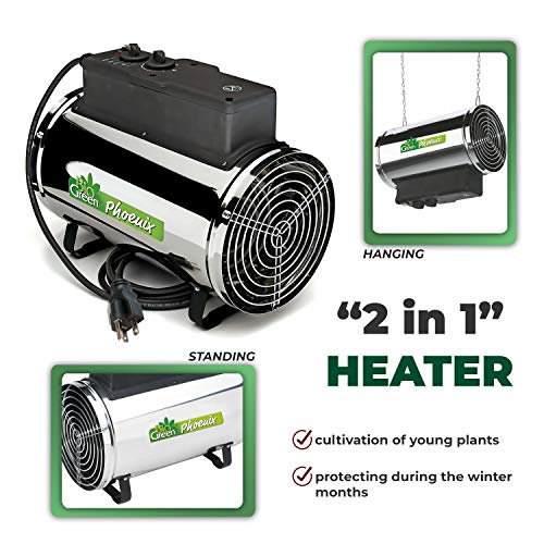 Buy greenhouse heater for plants for winter