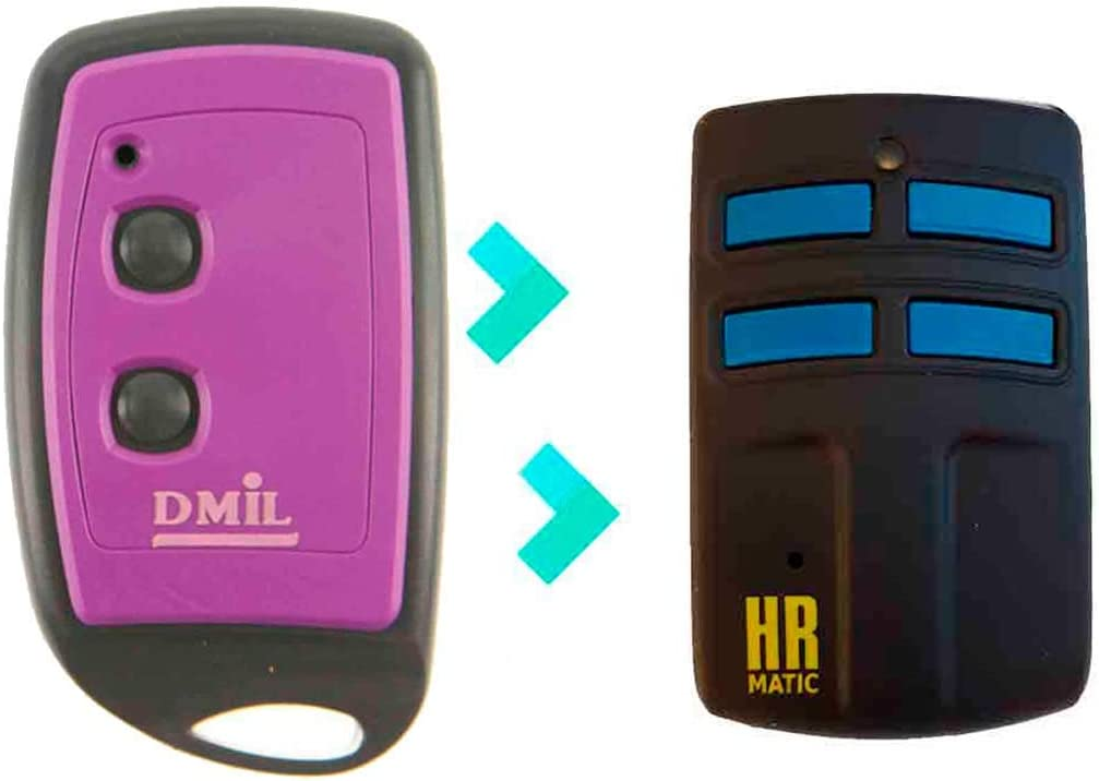 Mando de Garaje Universal HR MULTI 2 compatible DMIL NEO
