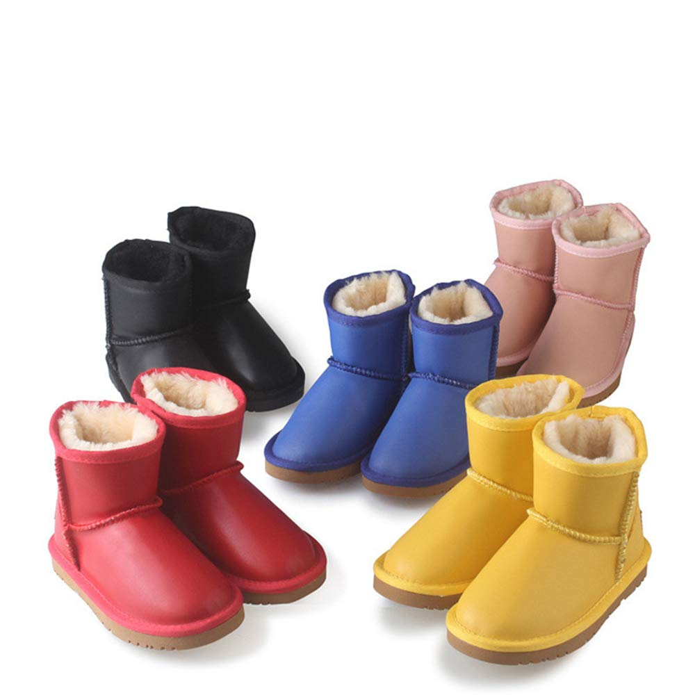 CHENSF Unisex Waterproof Snow Boots Insulate Snow Boot Toddler//Little Kid//Big Kid