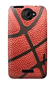 S0065 Basketball Case Cover for HTC ONE X