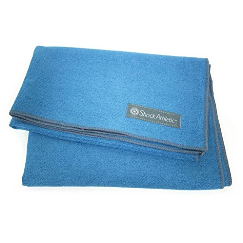Shock Athletic Yoga Towel MatProtected with Microban