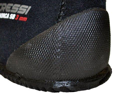 Cressi Minorca Short Boots - Escarpines de neopreno para buceo unisex negro/negro