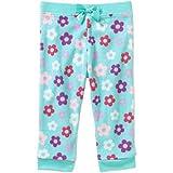 Garanimals Newborn Baby Girl Print Micro Fleece Pants, Mint, 18M