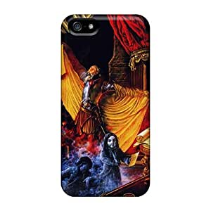 Scratch Resistant Hard Cell-phone Cases For Iphone 5/5s With Provide Private Custom HD Edguy Band Pictures LauraAdamicska