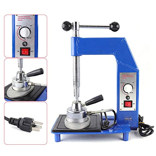 DONSU Tire Vulcanizing Repair Machine, Multifunction Auto Tire Repair Machine Kit Constant Controlled Heating Vulcanizing Machine Portable Garage Equipment Tool US