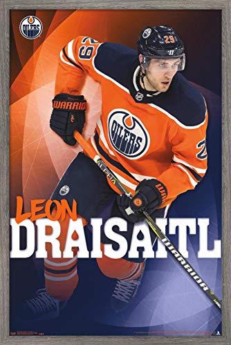 Trends International NHL Edmonton Oilers - Leon Draisaitl Wall Poster, 22.375