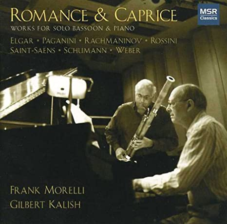 Buy Romance & Caprice - Solo Bassoon & Piano Online at Low
