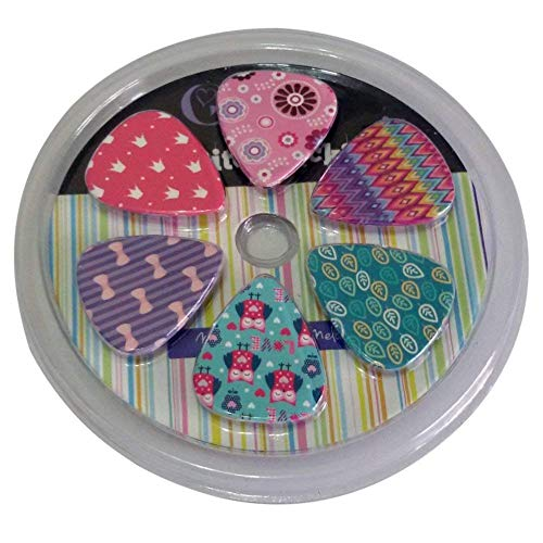 Girly Guitar Picks Set