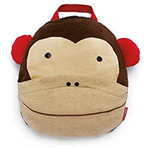 Skip Hop Zoo Monkey Kids Travel Blanket